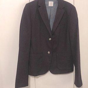 Gap Dark Maroon Two Button Blazer Size 8 Tall